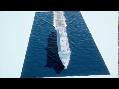 thinkingParticles Hyrofield & Hydroboat  Large Cruiser Ship effects by Jignesh Jariwala