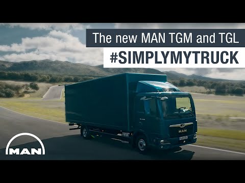 The new MAN TGM and TGL #SimplyMyTruck | MAN Truck & Bus