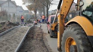 We Władysławowie trwa drugi etap budowy chodnika i oświetlenia przy Drodze Chłapowskiej. Tym razem pr
