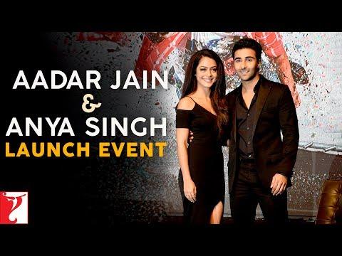 Aadar Jain & Anya Singh Launch Event