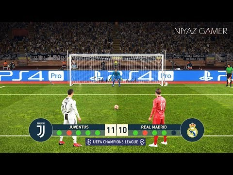 JUVENTUS vs REAL MADRID | Final UEFA Champions League - UCL | Penalty Shootout | PES 2019