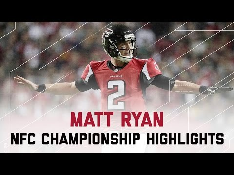 Matt Ryan Delivers for 392 Yards & 5 TDs! | Packers vs. Falcons | NFC Championship Player Highlights