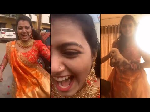 Bigg Boss 4 fame Monal Gajjar celebration moments with her sister Himali in Surat