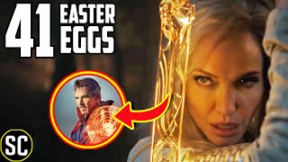 The ETERNALS Marvel Teaser: Every EASTER EGG Explained + Captain Marvel & Black Panther BREAKDOWN