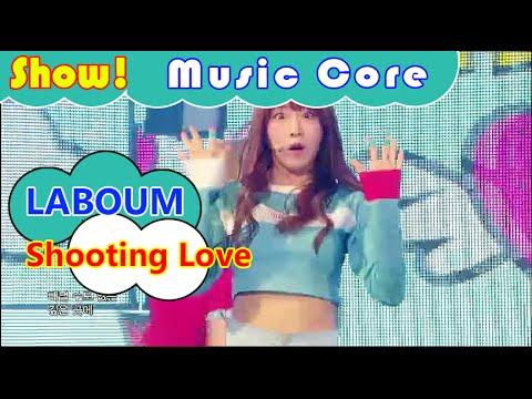 [Comeback Stage] LABOUM - Shooting Love, 라붐 - 푱푱 Show Music core 20160827