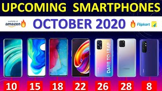 Top Upcoming Smartphones October 2020🔥🔥🔥