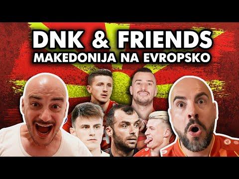 """Слушнете ја песната """"Македонија на Европско"""" на ДНК и пријателите, посветена на нашите фудбалери"""
