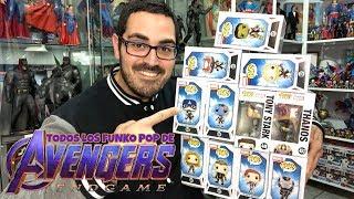 ¡Abriendo los FUNKO POP de AVENGERS ENDGAME!