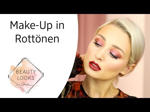 Make-up in coolen Rottönen mit Olesja