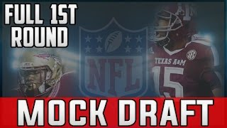 2017 NFL Mock Draft POST REGULAR SEASON - Deshaun Watson Myles Garrett Mitch Trubisky Deshone Kizer