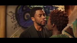 T'challa and Nakia | Back Panther [Kiss scene]