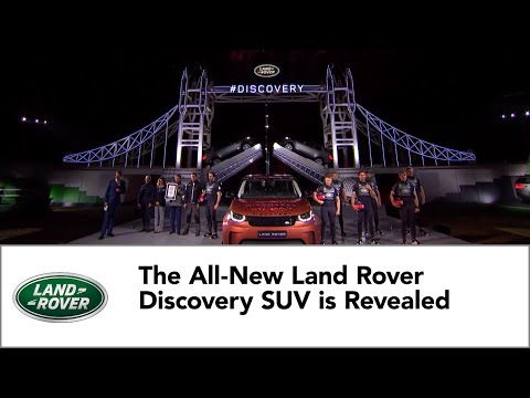 The All-New Land Rover Discovery SUV is Revealed