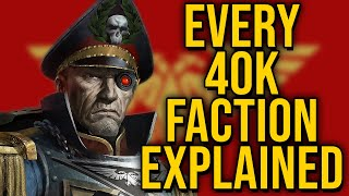 Every single Warhammer 40k (WH40k) Faction Explained | Part 1