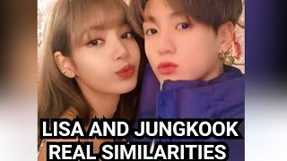 BTS jungkook and Blackpink lisa part 6 it's not a coincidence