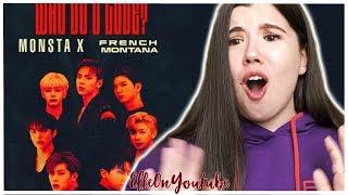 Monsta X - WHO DO U LOVE? (Audio) ft. French Montana Reaction