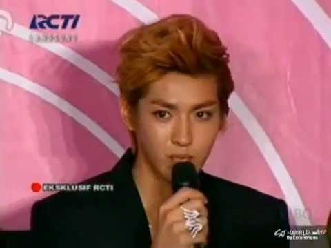 120922 EXO (cut) @ SMTown in Jakarta Press Conference