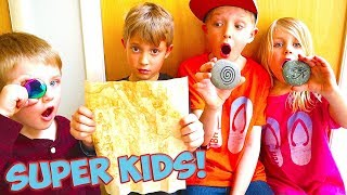 We Found A New Treasure Map! Super Kids Episode 3! / The Beach House