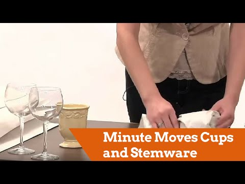 Minute Moves - Cups and Stemware