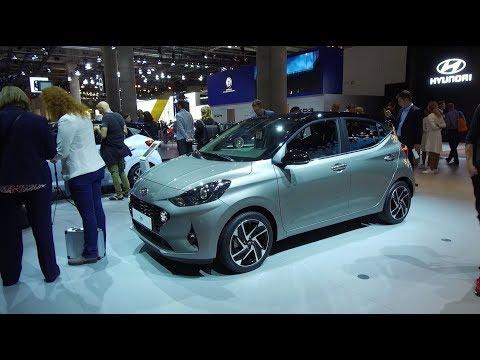 Hyundai na salonie samochodowym we Frankfurcie