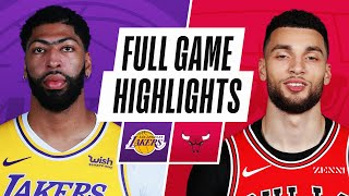 LAKERS at BULLS | FULL GAME HIGHLIGHTS | January 23, 2021