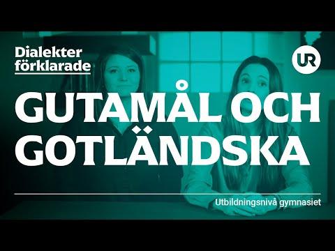 Gotländska och Gutamål förklarade | SVENSKA | Gymnasienivå