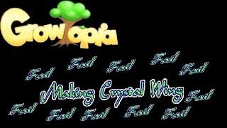 Growtopia - Making Crystal Wing {FAIL}