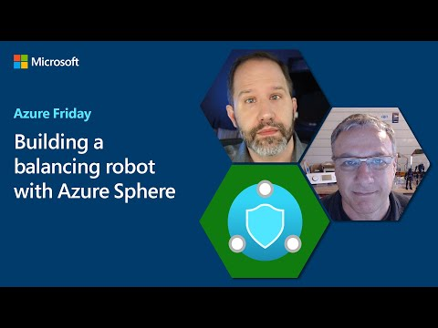 Building a balancing robot with Azure Sphere   Azure Friday