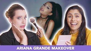 I Tried Giving An Ariana Grande Makeover