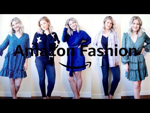 Huge AMAZON Fall Fashion Haul & Try On | Milabu