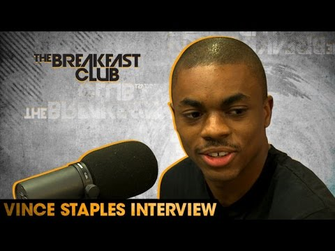 Vince Staples Interview With The Breakfast Club (8-26-16)