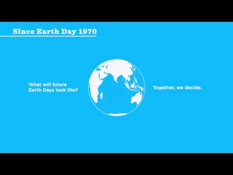 Earth Day 1970 – 2018