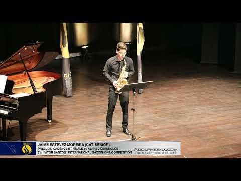FIS Palmela 2019 Jaime Estevez Moreira Prelude, Cadence et Finale by Alfred Desenclos