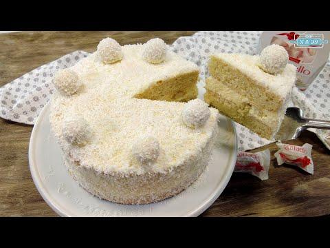 Tarta Raffaello ¡DE-LI-CIO-SA!!! ? ? La MEJOR TARTA de COCO que Probarás ? Recetas de Navidad 13/24