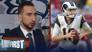 Nick Wright doesn't think Rams will make playoffs even after Seahawks win | NFL | FIRST THINGS FIRST