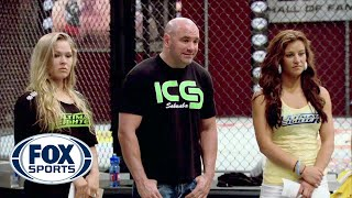 Rousey and Tate pick their teams - TUF 18