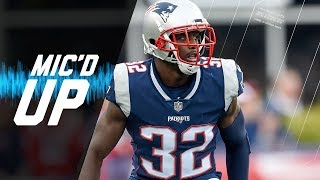 Devin McCourty Mic'd Up Shutting Down the Chargers | NFL Films | Sound FX