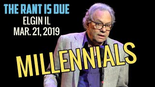 Lewis Black | 3/21/19 Elgin IL: Millennials