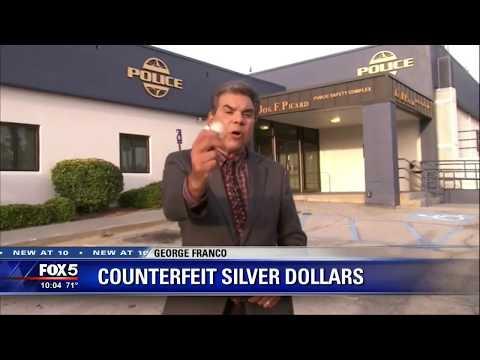 Counterfeit Silver Dollars - Fox5 News Segment