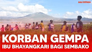 Peduli Korban Gempa, Ibu Bhayangkari Bagikan Sembako