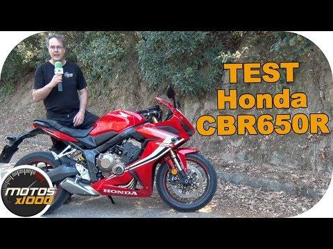 Test Honda CBR650R | Motosx1000