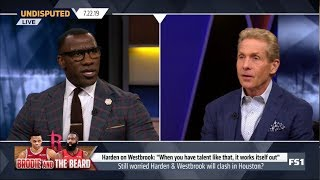 UNDISPUTED | Skip & Shannon DEBATE: Still worried Harden & Westbrook will clash in Houston?