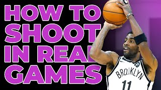 How To Shoot a Basketball Better in REAL GAMES 🏀 💯