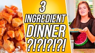 3 Ingredient Sweet and Sour Chicken?! | 3 Items Or Less w/ CloeCouture!