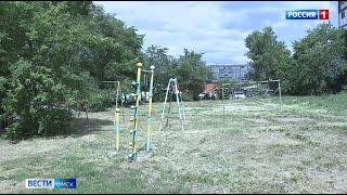 Больше половины детских площадок в Омске небезопасны