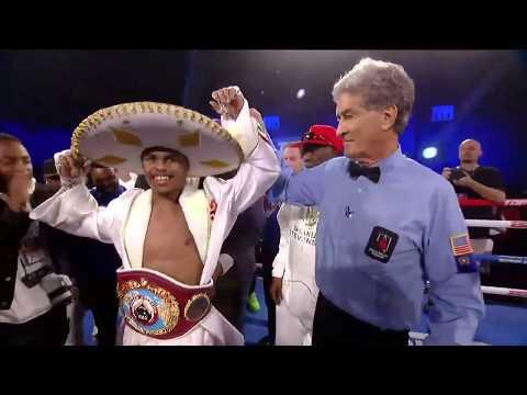 Shakur Stevenson Outclasses Gonzalez To Win First Title | Full Fight Highlights