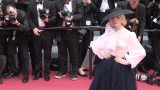 Elle Fanning at Once Upon A Time In Hollywood in Cannes