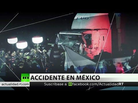Al menos 10 muertos y 16 hospitalizados por un accidente de tráfico múltiple en México