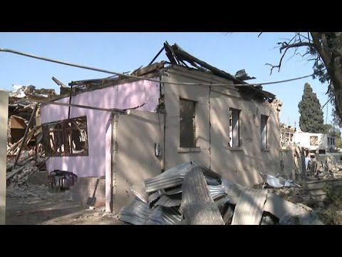 Нагорный Карабах: обстрелы на фоне объявленного перемирия - Россия 24