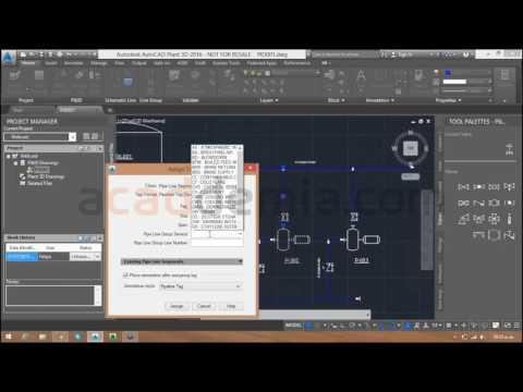 Webcast: Introducción a las herramientas de AutoCAD P&ID