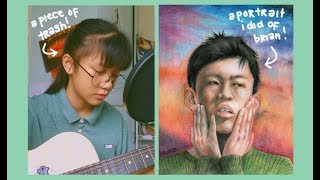 an acoustic cover: Glow like dat by Rich Brian ✨